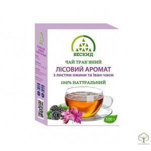 Травяной чай  «Лесной аромат» с ежевикой и Иван-чаем